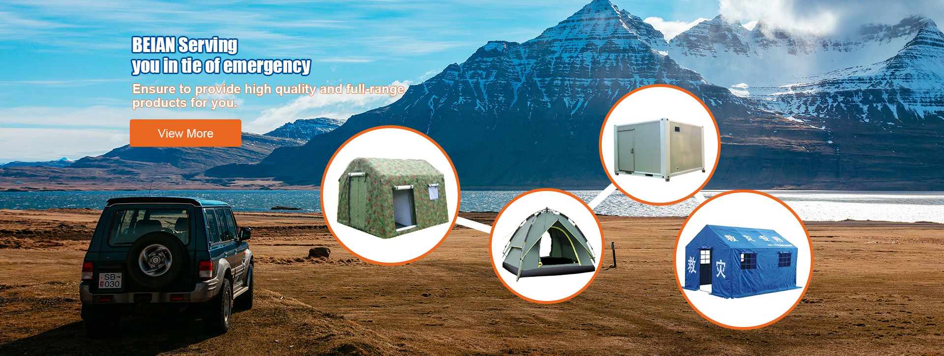 Tent and Folding Shelter Series Products