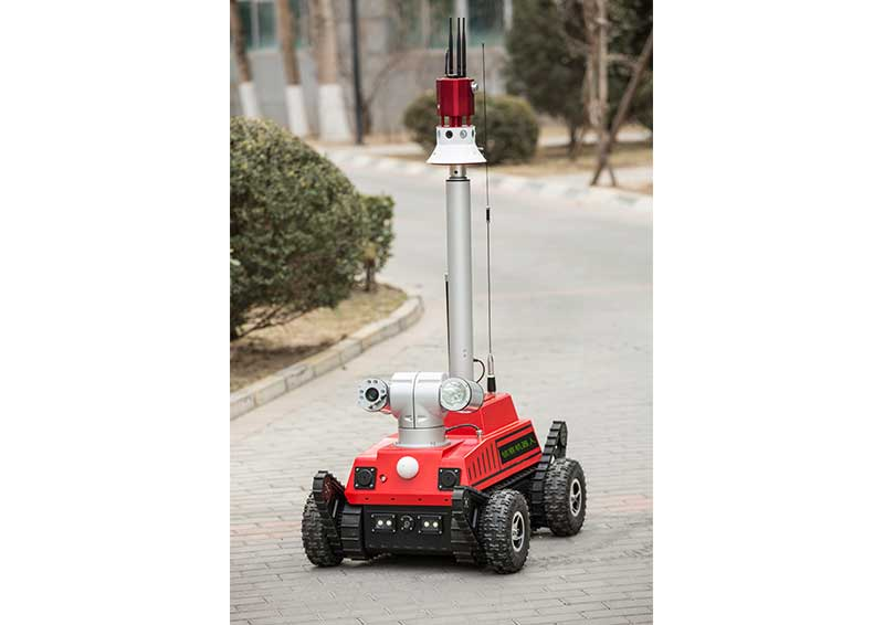 BA-JQR-ZC Fire Detection Robot