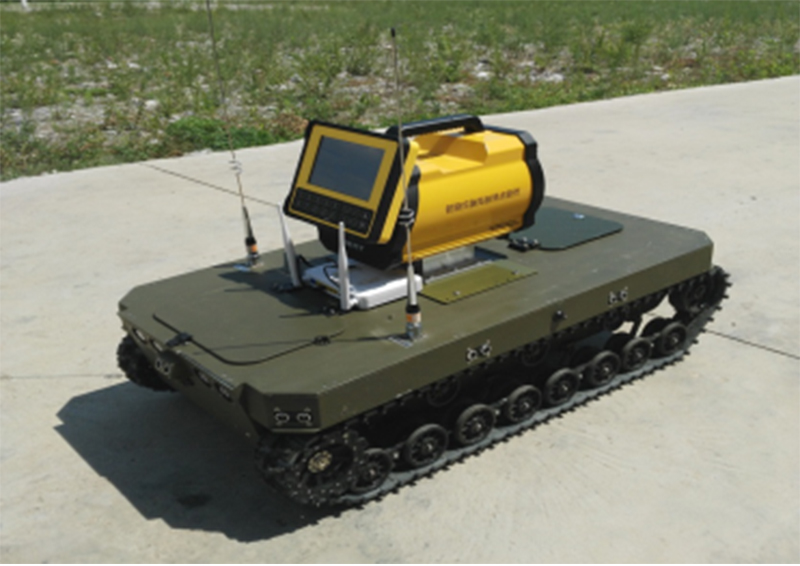 BA-JQR-HTC Nuclear detection robot