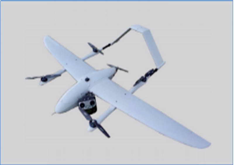 BA-WRJ-FH-2500 Vertical take-off and landing fixed-wing UAV