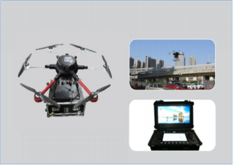 BA-WRJ-XB-1600 A system of Multi-Rotor UAV system