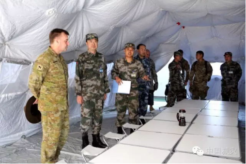 Multi-function Emergency Light Shows Up At Sino-US Humanitarian Relief Joint Military Exercise
